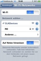 Network Iphone
