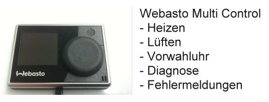 Multi Control Retrofit ✓ for all Webasto parking heaters ✓